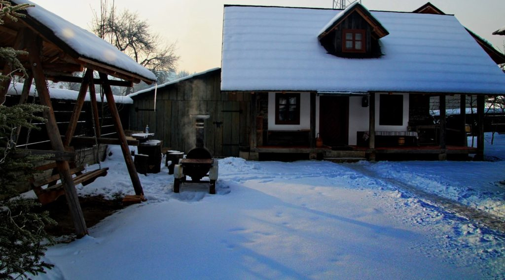 Casa Povestilor, iarna